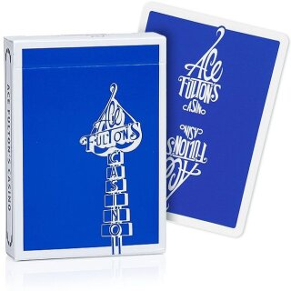 Ace Fultons Classic Ed Playing Cards - Blue