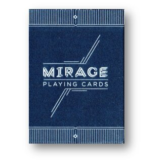 MIRAGE V4 Midnight Blue Playing Cards by Patrick Kun