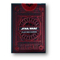 Star Wars Playing Cards Red
