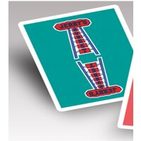 Modern Feel Jerrys Nuggets (Teal) Playing Cards