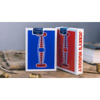Modern Feel Jerrys Nuggets (Red) Playing Cards