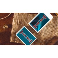 Vintage Feel Jerrys Nuggets (Blue Foil) Playing Cards