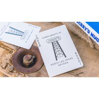 Vintage Feel Jerrys Nuggets (Blue) Playing Cards
