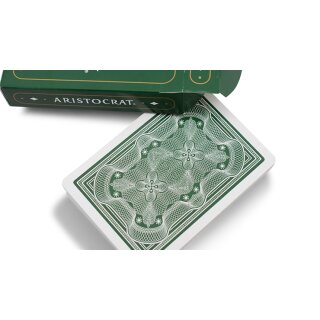 Aristocrat Green Edition Playing Cards