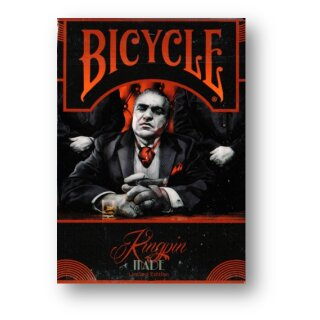 Bicycle Made Kingpin Deck by Crooked Kings Cards NO SEAL