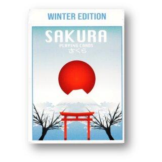 Sakura Playing Cards Winter Edition
