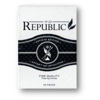 BLACK Republic Deck - Artist Edition by Ellusionist