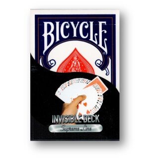 Invisible Deck Bicycle BLAU