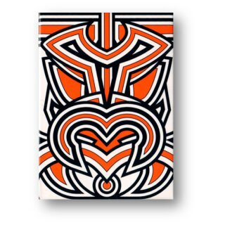 Hello Tiki (White) Playing Cards