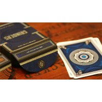 Blue Grinders Playing Cards by Midnight Cards