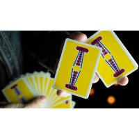Vintage Feel Jerrys Nuggets (Yellow) Playing Cards