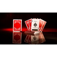 Bicycle Insignia Back (Red) Playing Cards