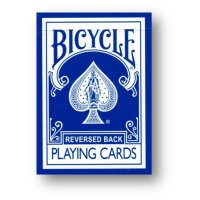 Reversed Rider Back Blue - Bicycle by Magic Makers