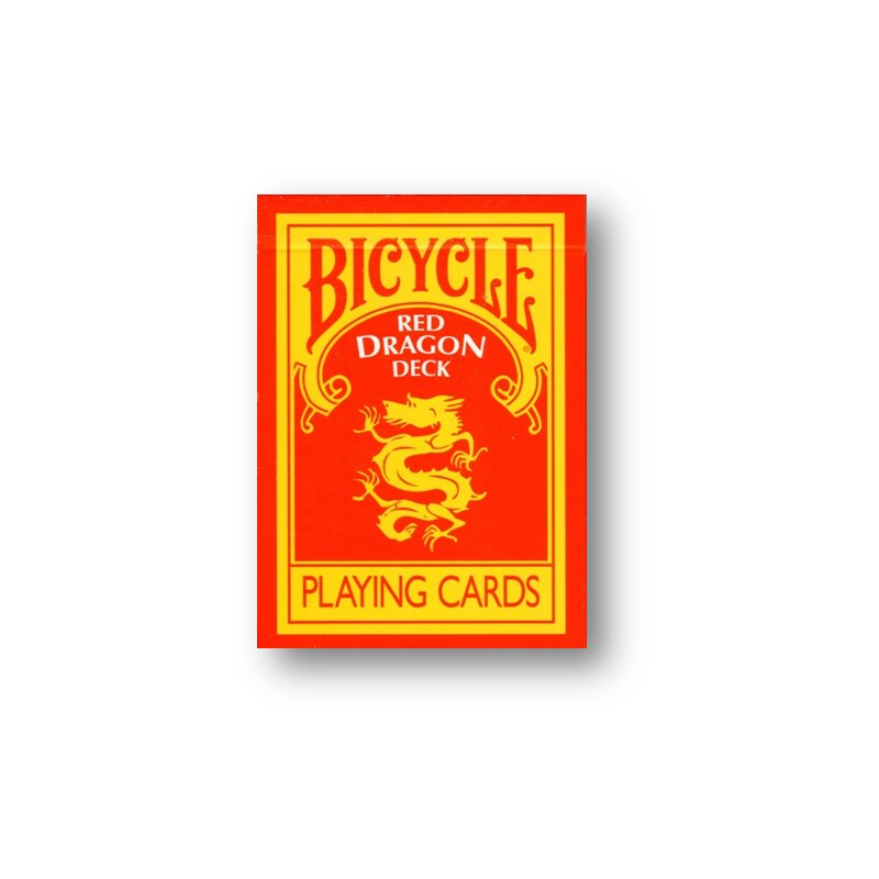 Red Dragon Deck Bicycle By Magic Makers 8 99