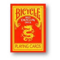 Red Dragon Deck - Bicycle by Magic Makers