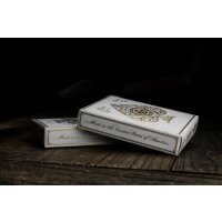 Artisan White Edition Playing Cards by theory11