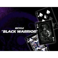 Black Warrior Bicycle Poker by Eric Duan Ltd Edition