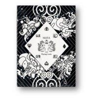 Maya Playing Cards Magic White