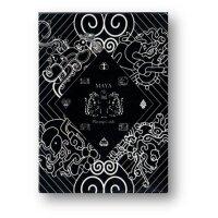 Maya Playing Cards Magic Black