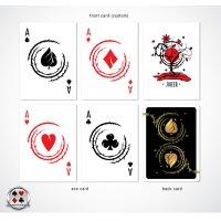 KIRA Playing Cards Slim Line Card Stock