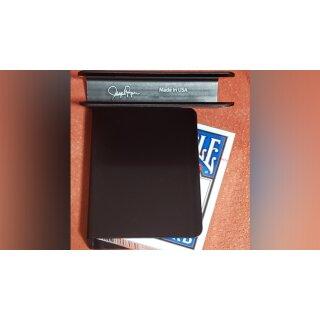 The Porper Card Clip (Black) Flat-Spine by Joe Porper