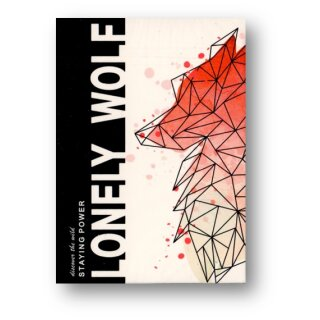 Lonely Wolf Pink Edition Playing Cards
