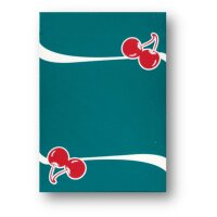 Cherry Casino (Tropicana Teal) Playing Cards by Pure...