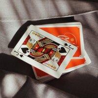 Gemini Casino 1975 Orange (SEALED) Playing Cards