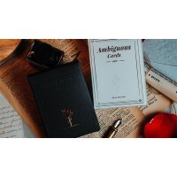 Ambiguous (Black) Playing Cards