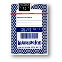 Bee Lakeside Casino (Blue) Playing Cards