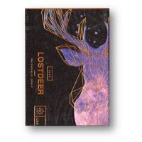 Lost Deer Playing Cards Black edition