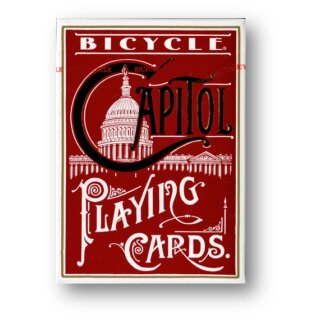 Bicycle Capitol (Red) Playing Cards