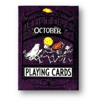 October Fultons Playing Cards by Art of Play