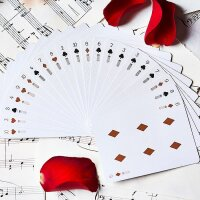 Piano Players 2 Keys Edition Playing Cards