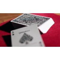 Turbulence (Black) Playing Cards