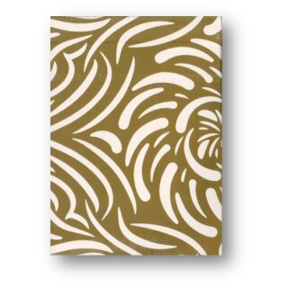 Turbulence (Gold) Playing Cards