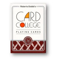 Card College (Red) Playing Cards by Robert Giobbi and TCC...