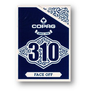 Copag 310 Playing Cards - Slim Line - Face Off - Blue