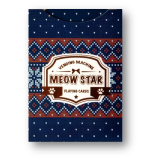 Meow Star (Knitted Sweater) Playing Cards by Bocopo