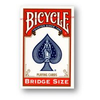 Bicycle - Bridge Size Playing Cards RED