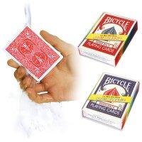 100 % Plastik Deck - Bicycle Playing Cards Rot