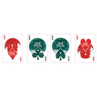 Christmas Playing Cards (Red) by TCC