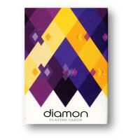 Diamon Playing Cards N° 14 Purple Star Playing Cards...