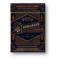 Monarch Black/Blue Playing Cards by Theory11