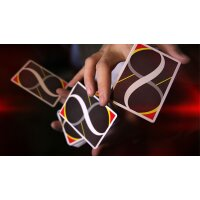 MOBIUS Black Playing Cards by TCC Presents