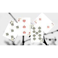 Bicycle Dragonfly (Teal) Playing Cards