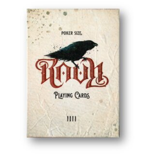 Ravn IIII Playing Cards - Red