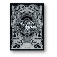 Devils in the Details Sinful Silver Playing Cards by...