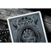 Devils in the Details Sinful Silver Playing Cards by Riffle Shuffle