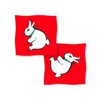 Rabbit-Duck Silk - 40 cm - Red